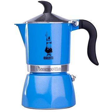 Bialetti Fiammetta Azzurro pro 3 šálky, světle modrá (8006363006507)