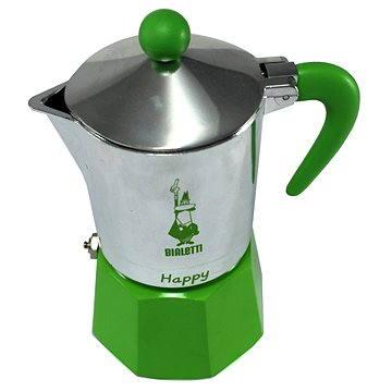 Bialetti Happy pro 3 šálky, zelená (8006363012386)
