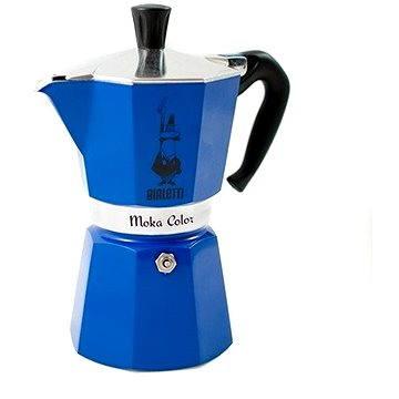 Bialetti Moka Color, modrá (8006363011808)