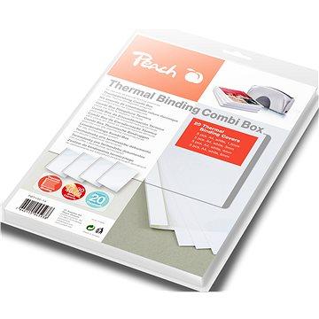Peach PBT100-14 Binding Combi Box pro Thermal Binder, 20ks (510689)