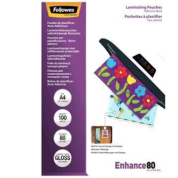 Laminovací fólie Fellowes A4 80mic samolepící (lampofela4080ad)