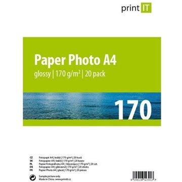 PRINT IT Paper Photo Glossy A4 20 listů (PI-83)