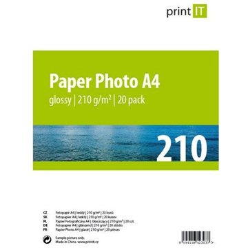 PRINT IT Paper Photo Glossy A4 20 listů (PI-85)