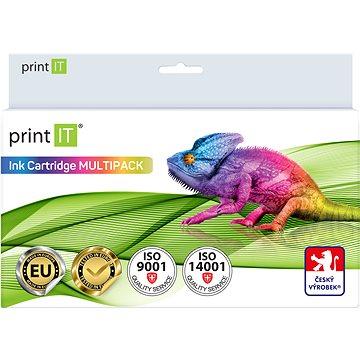 PRINT IT Multipack PGI-520 + CLI 521-2xBk/PBK/C/M/Y pro tiskárny Canon (PI-1012)