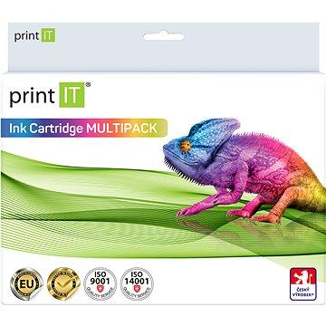 PRINT IT Multipack PGI-550XL + CLI-551XL 3xBk/PBK/C/M/Y pro tiskárny Canon (PI-1036)