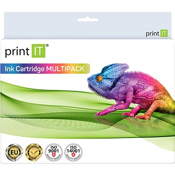 PRINT IT Multipack 652XL BK + 652XL Color pro tiskárny HP (PI-957)