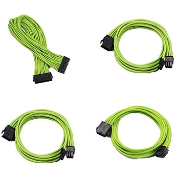 Phanteks Extension Cable Set - Zelená (PH-CB-CMBO_GR)