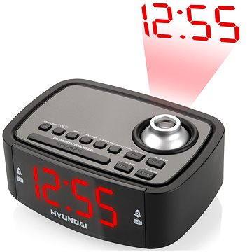 Rádiobudík Hyundai RAC 201 PLL BR černý (HYURAC201PLLBR)