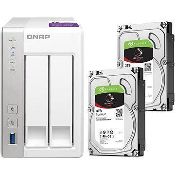 QNAP TS-231P + 2x3TB HDD RAID1