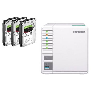 QNAP TS-328 + 3x4TB HDD RAID5 (TS-328 + 3x4TB HDD RAID5)