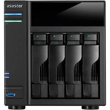 Asustor AS6104T + ZDARMA Příslušenství Asustor Remote Control pro AS-2/3