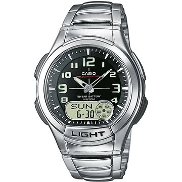 Pánské hodinky Casio AQ 180D-1B (4971850437567)