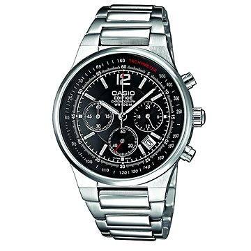 Pánské hodinky CASIO EF 500D-1A (4971850806943) + ZDARMA Elektronický časopis Exkluziv - aktuální vydání od ALZY Elektronický časopis Interview - aktuální vydání od ALZY