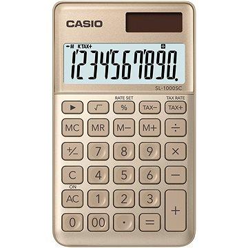 CASIO SL 1000 SC zlatá (45013575)