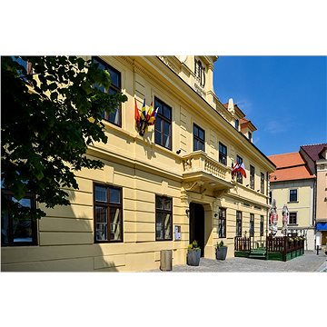 Romantická noc pro dva v hotelu Hejtmanský dvůr ve Slaném (RADOST000028E)