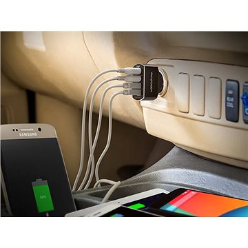 Ravpower RP- VC003 Quick Charge 3.0 4-Port Car Charger