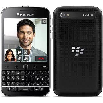 BlackBerry Classic QWERTY Black (PRD-59715-031) + ZDARMA Power Bank Mobile Battery 2600 mAh