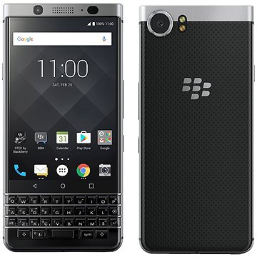 BlackBerry KEYone Silver (PRD-63117-015)