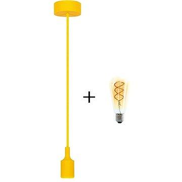 RABALUX Roxy žlutá+ žárovka V-TAC 5W