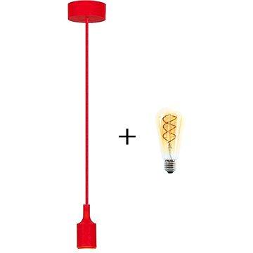 RABALUX Roxy červená + žárovka V-TAC 5W