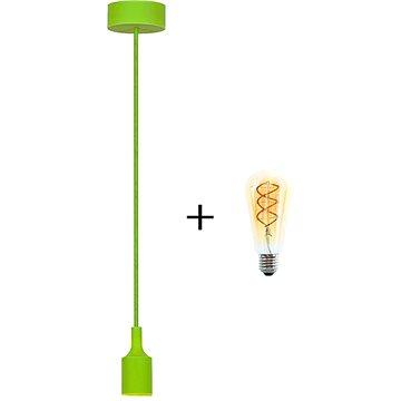 RABALUX Roxy zelená + žárovka V-TAC 5W