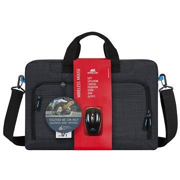 """RIVA CASE 8058 17.3"""" + bezdrátová myš (8058BNDL)"""