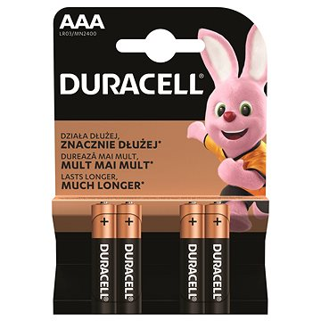 Duracell Basic AAA 4 ks (81480585)