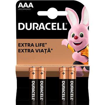 Duracell Basic AAA 4 ks (10PP100005)