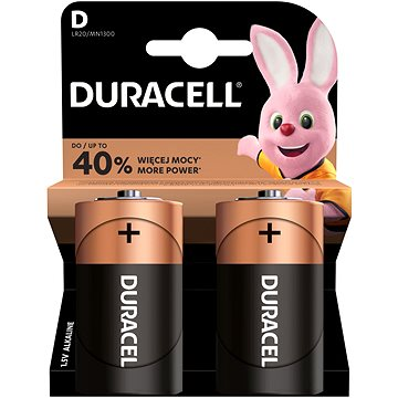 Duracell Basic LR20 2 ks (81483633)