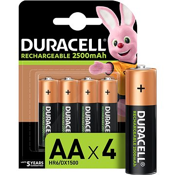Duracell StayCharged AA - 2400 mAh 4 ks (10PP050043)