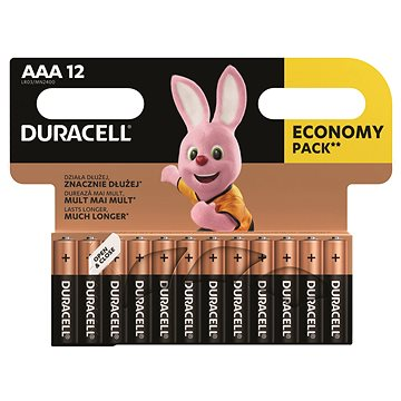 Duracell Basic AAA 12 ks (81480556)