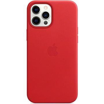 Apple iPhone 12 Pro Max Kožený kryt s MagSafe (PRODUCT)RED (MHKJ3ZM/A)