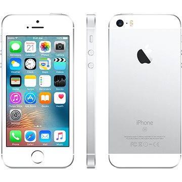 iPhone SE 16GB Stříbrný (MLLP2CS/A)