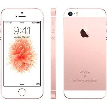 iPhone SE 16GB Rose Gold (MLXN2CS/A) + ZDARMA Album MP3 Zimní playlist 2017 Sluchátka Beats EP - white Digitální předplatné Týden - roční