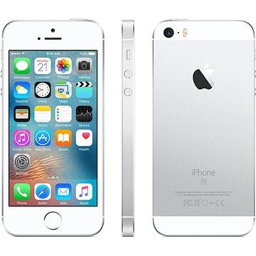 iPhone SE 64GB Stříbrný (MLM72CS/A) + ZDARMA Digitální předplatné Interview - SK - Roční od ALZY Digitální předplatné Týden - roční