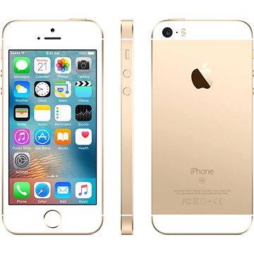 iPhone SE 64GB Zlatý (MLXP2CS/A) + ZDARMA Sluchátka Beats EP - white Digitální předplatné Týden - roční