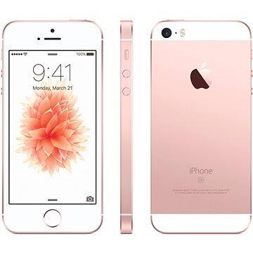iPhone SE 128GB Růžově zlatý (MP892CS/A) + ZDARMA Digitální předplatné Týden - roční