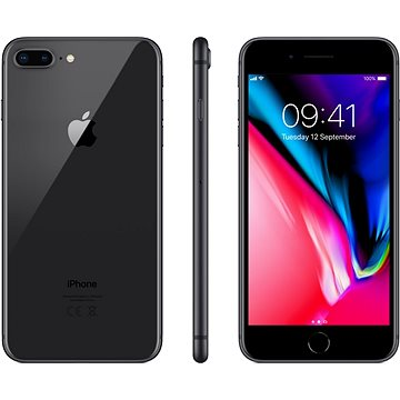 iPhone 8 Plus 256GB Vesmírně šedý (MQ8P2CN/A)