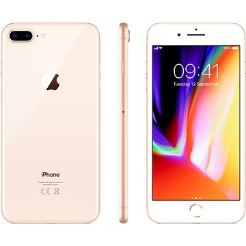 iPhone 8 Plus 256GB Zlatý (MQ8R2CN/A)
