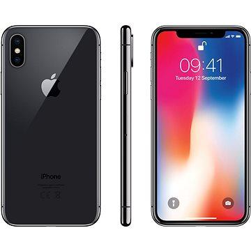 iPhone X 256GB Vesmírně šedý (MQAF2CN/A) + ZDARMA Ochranný kryt iPhone X Silikonový kryt černý Digitální předplatné PC Revue - Roční předplatné - ZDARMA Digitální předplatné Interview - SK - Roční od ALZY