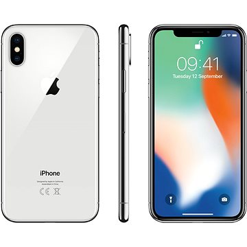 iPhone X 256GB Stříbrný (MQAG2CN/A)