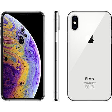 iPhone Xs 512GB stříbrná (MT9M2CN/A)