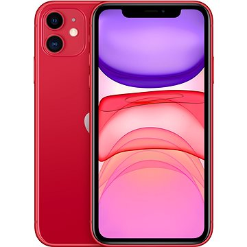 iPhone 11 256GB červená (MWM92CN/A)