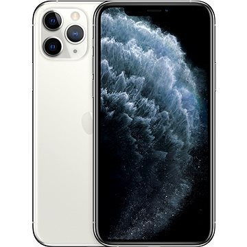 iPhone 11 Pro 64GB stříbrná (MWC32CN/A)