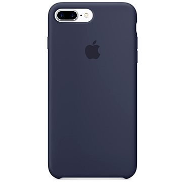 iPhone 7 Plus Silikonový kryt půlnočně modrý (MMQU2ZM/A)