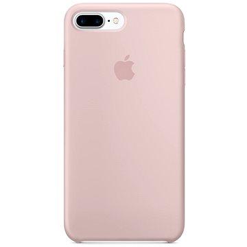 iPhone 7 Plus Silikonový kryt pískově růžový (MMT02ZM/A)