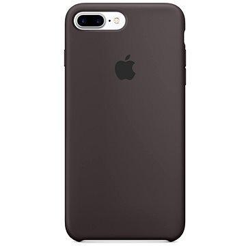 iPhone 7 Plus Silikonový kryt kakaově hnědý (MMT12ZM/A)