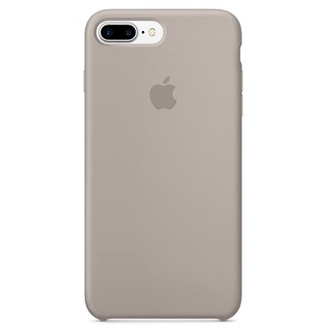 iPhone 7 Plus Silikonový kryt oblázkový (mq0p2zm/a)