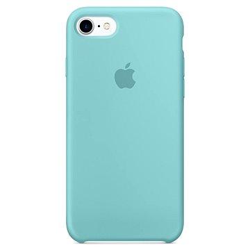 iPhone 7 Silikonový kryt jezerně modrý (MMX02ZM/A)