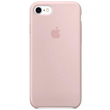 iPhone 7 Silikonový kryt pískově růžový (MMX12ZM/A)